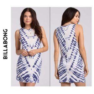 Billabong Wonder Why tie dye dress cover-up mini